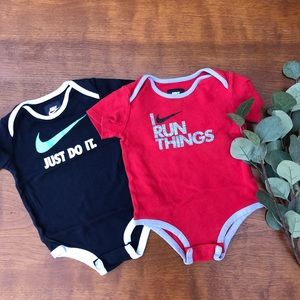 Nike onesies | 9-12 mo | like new condition